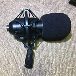 Amazon Avantek コンデンサーマイク 高音質 単一指向性 3 5mmミニプラグ スタジオ 録音 生放送 ゲーム実況 Pc用 Mp 9 コンデンサ 楽器