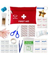 GL Gear Portable First Aid Kit Medical Survival Bag,Mini Emergency Bag for Car,Home,Picnic,Camping ,Travelling and Other Outdoor Activies(41pcs/Set),Complete home medical bag,Free Bonus Offered