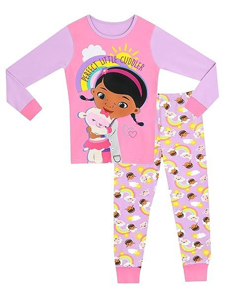 c5d702b48b Disney Doctora Juguetes - Pijama para niñas - Doc McStuffins - 12 - 18  Meses  Amazon.es  Ropa y accesorios