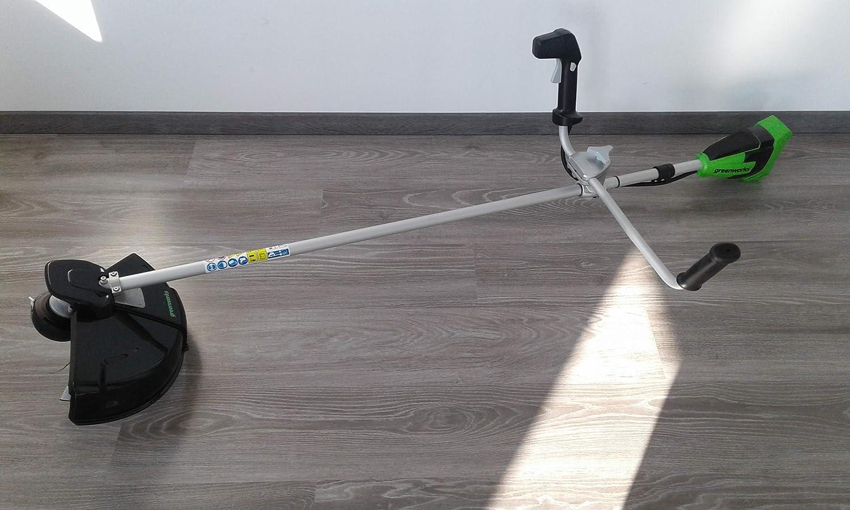 Greenworks Tools 40V Desbrozadora con Mango Tipo Bici 2103907 (sin ...