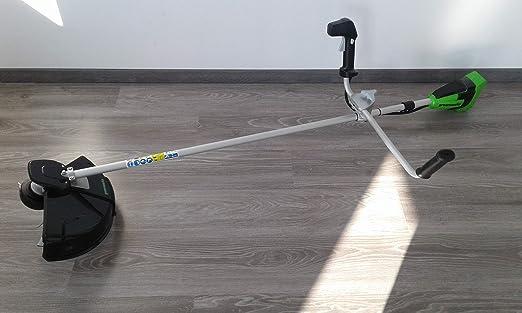 Greenworks Tools 40V Desbrozadora con Mango Tipo Bici ...