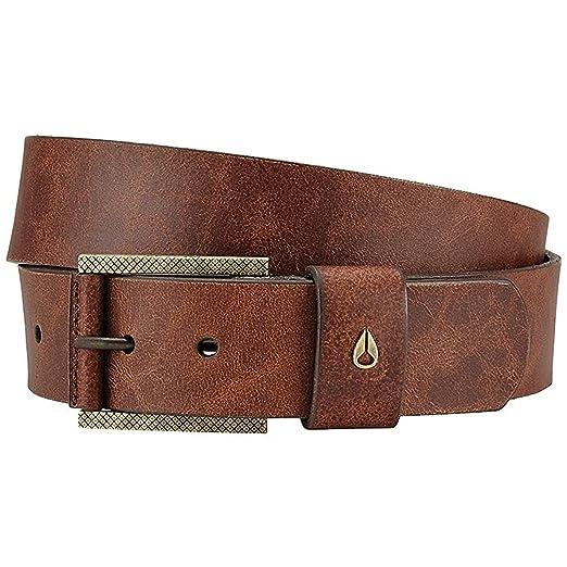 Nixon American SE Slim Belt Brown