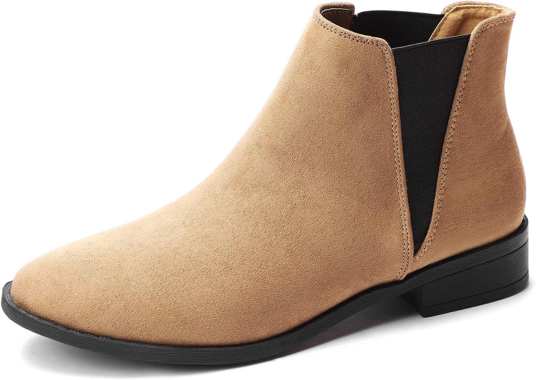 CINAK Women's Chelsea Ankle Boots