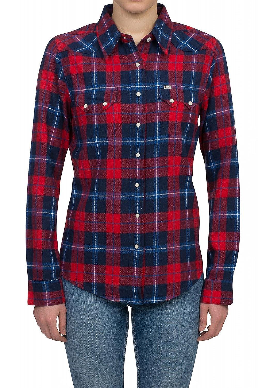 TALLA 34 (Talla del fabricante: X-Small). Lee L516LN - Camisa para mujer