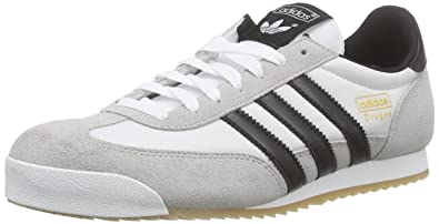 buy popular cc2cd 386aa adidas Originals Dragon, Men s Trainers, White (Ftwr White Core Black Gold