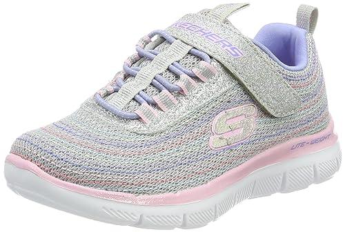 Skechers Mädchen Skech Appeal 2.0 Mini Metal Sneaker, grau