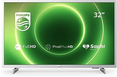 Philips 32PFS6855/12 Televisor de 32 Pulgadas (Fulll HD TV, Pixel Plus HD, Saphi Smart TV,
