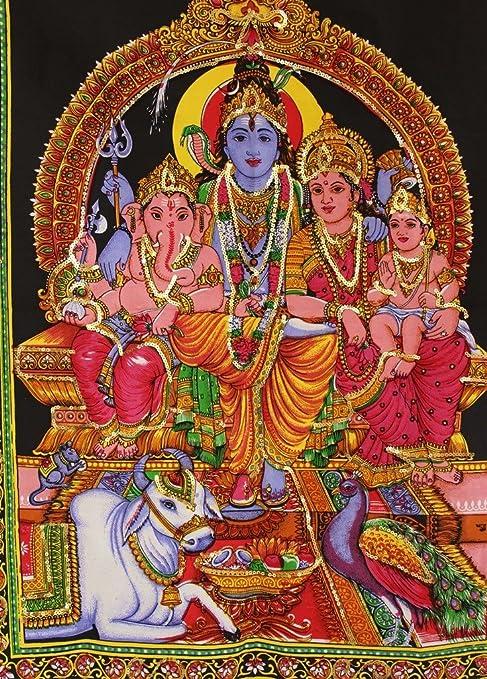 lord shiva family photos