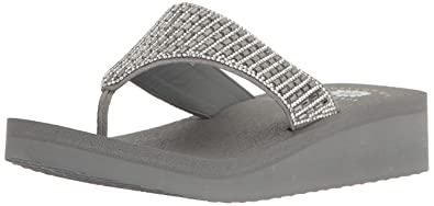 420a280813f Yellow Box Women s Wedge Sandal Gray 7.5 ...