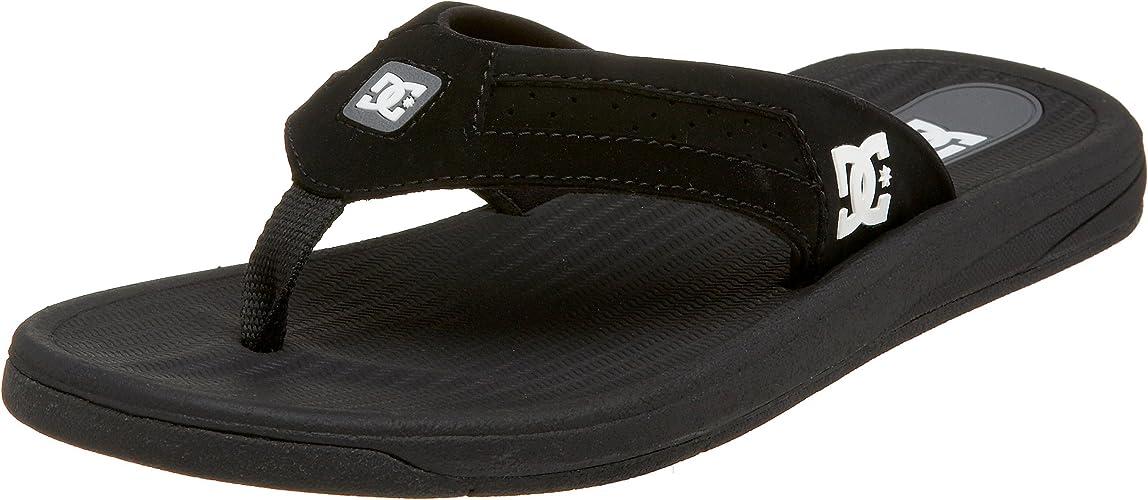 DC Shoes Mens Cabo Sandal Black