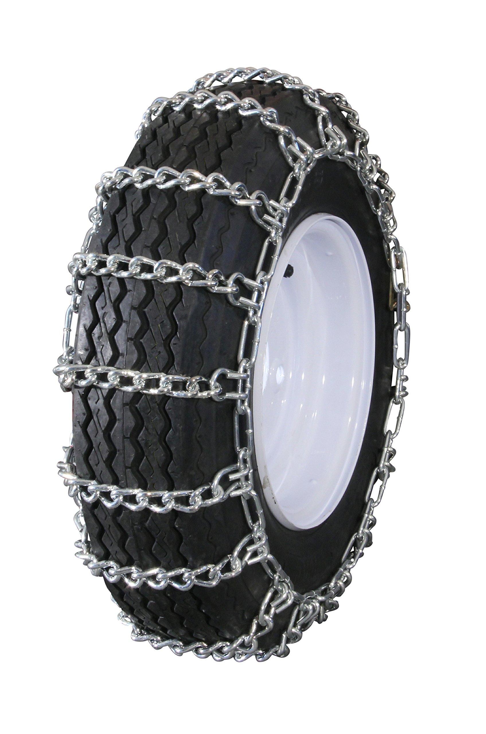 MaxTrac Peerless MTL-423 Garden Tractor 2 Link Ladder Style Tire Chains 4.10/3.50x4, 3.40/3.00x5, 4.10x4, 3.50x4, 3.40x5, 3.00x5 by MaxTrac