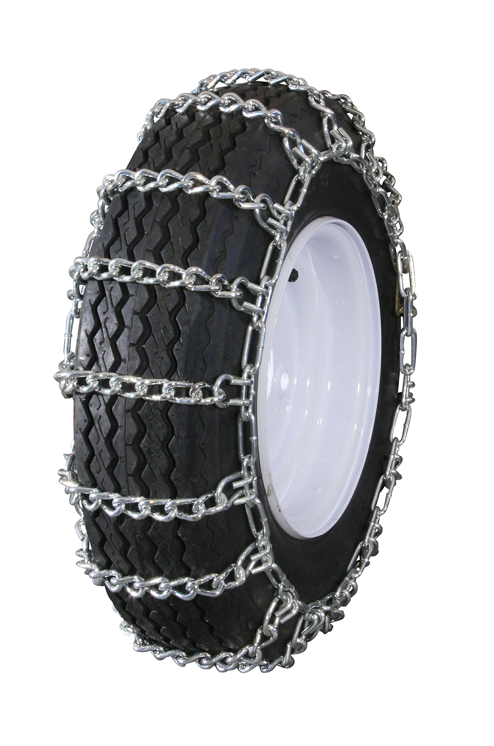 Peerless MTL-417 Garden Tractor 2 link Ladder Style Tire Chains 12x3, 4.50x4, 4.10x5, 3.50x5, 4.10/3.50-5 by MaxTrac (Image #3)
