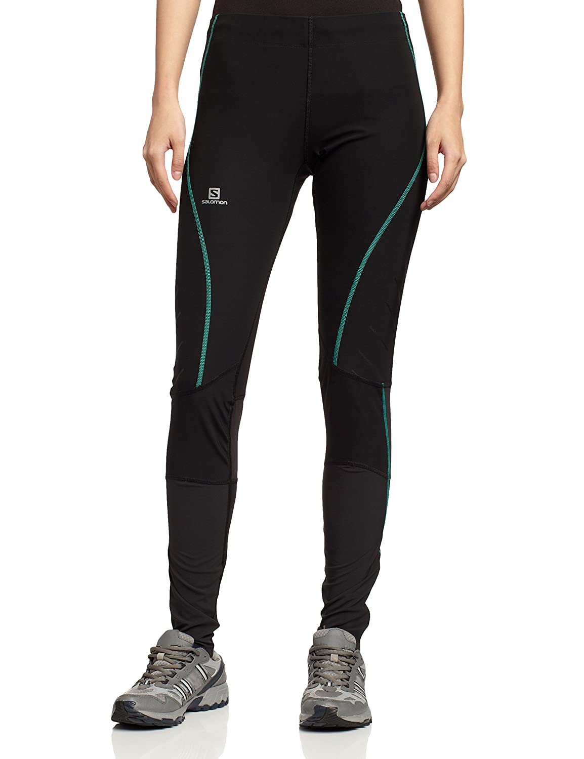 Ski Underwear Women Salomon Endurance Tight Tech Pants