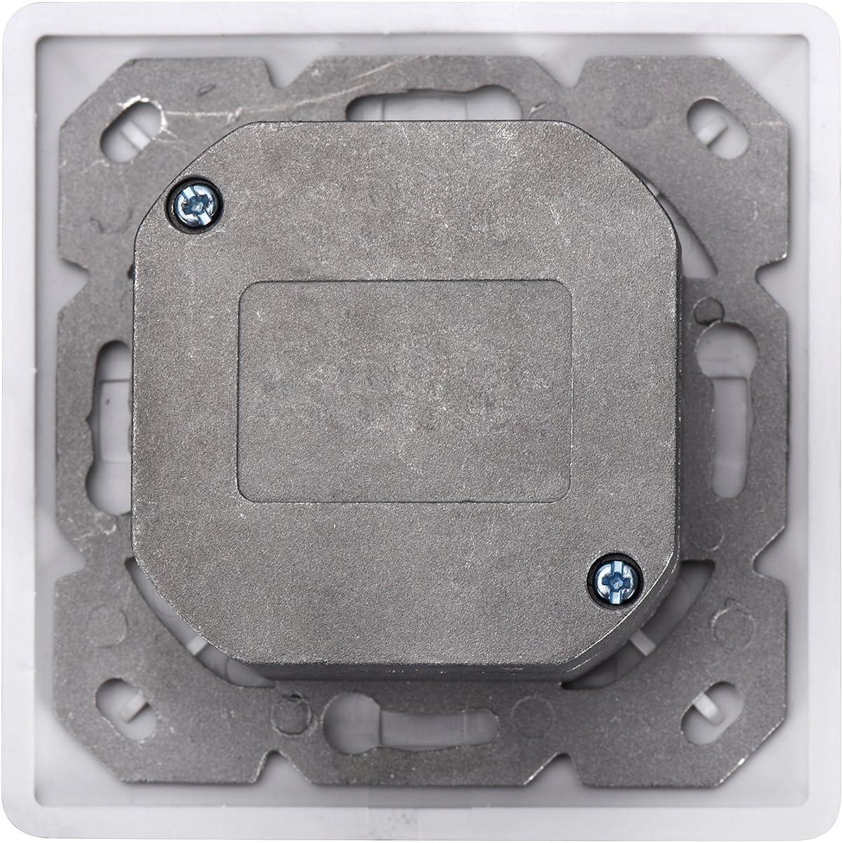 5 unidades Instalaci/ón de cable horizontal Montaje empotrable 1 Gbit DN-9002//B5-N Toma de pared red Cat 5e DIGITUS Professional