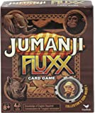 Jumanji Fluxx Card Game with Collector's Coin