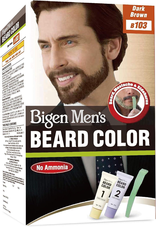 Hoyu Co. Bigen - Barba para hombre, color marrón oscuro B103