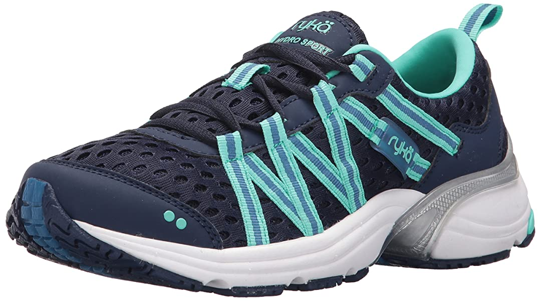 Womens Hydro Sport Cross-Trainer-Shoes, Blue/Teal, 10 M US Rykä