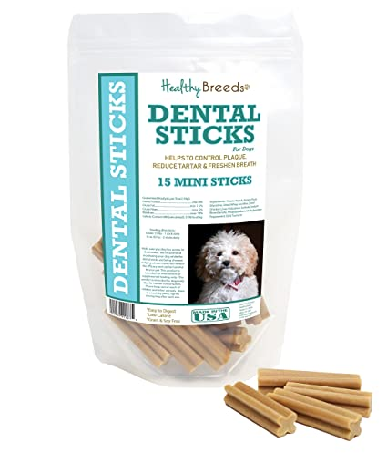 Healthy Breeds Triple Enzyme Dental Sticks - Vet Formulated to Control  Plaque, Reduce Tartar and Freshen Breath - Grain Free - Tasty Chicken  Flavor -