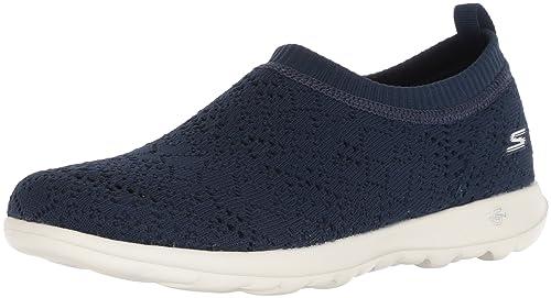 668204564caf Skechers Women s Go Walk Lite-Harmony Navy Nordic Walking Shoes-5 UK India