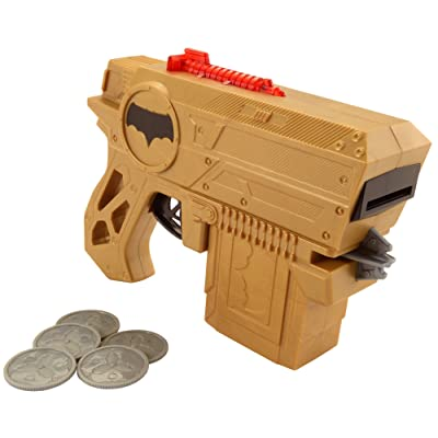 DC Justice League Batman Disc Blaster Action Figure: Toys & Games