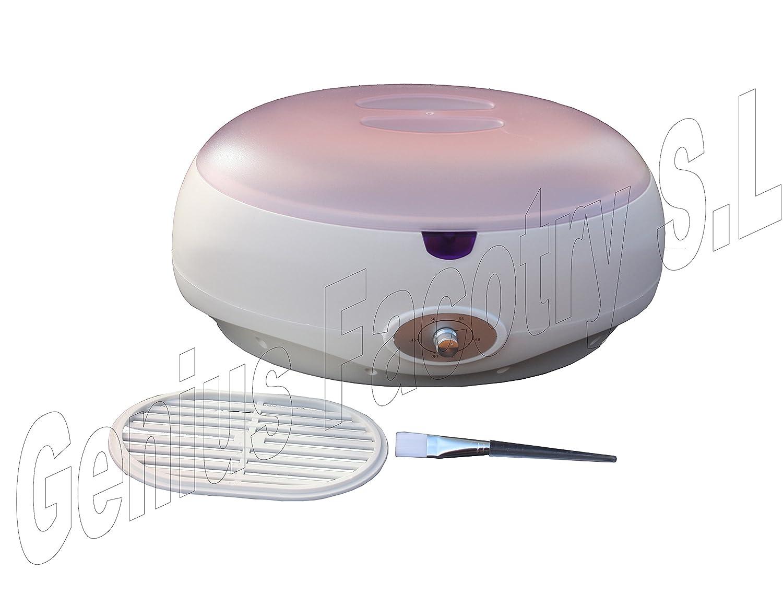 Parafina fundidor calentador bañera de litros Profesional  hidratación para manos y