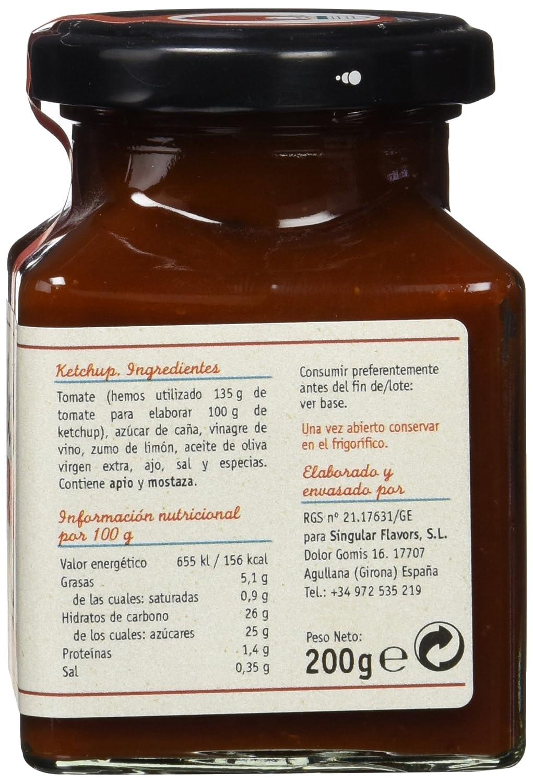 Barba Roja - Tomate Ketchup - Handmade - 200 g: Amazon.es: Alimentación y bebidas