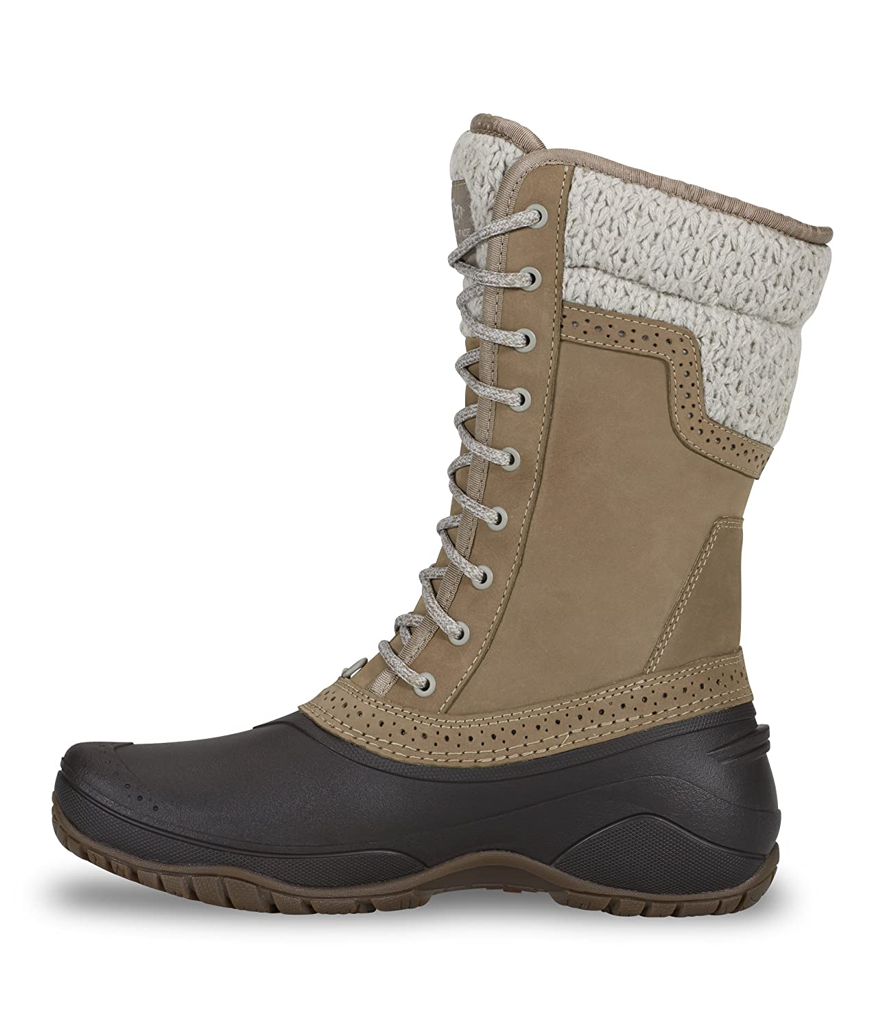 The North Face Womens Shellista II Mid B018WSWKPY 6.5|Split Rock Brown & Dove Grey