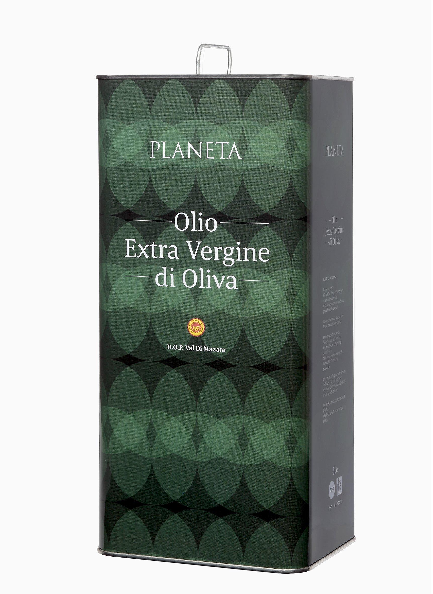 Planeta Extra Virgin Olive Oil D.O.P Val Di Mazara, 169 Ounce