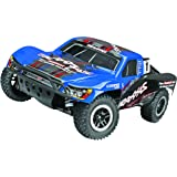 Traxxas Slash 4X4 1/10 Scale 4WD Electric Short Course Truck with Stability Management, Colors May Vary