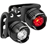Kryptonite Comet F100/R100 Alum to Be Seen Front & Rear LED Bicycle Light (2 Pack)