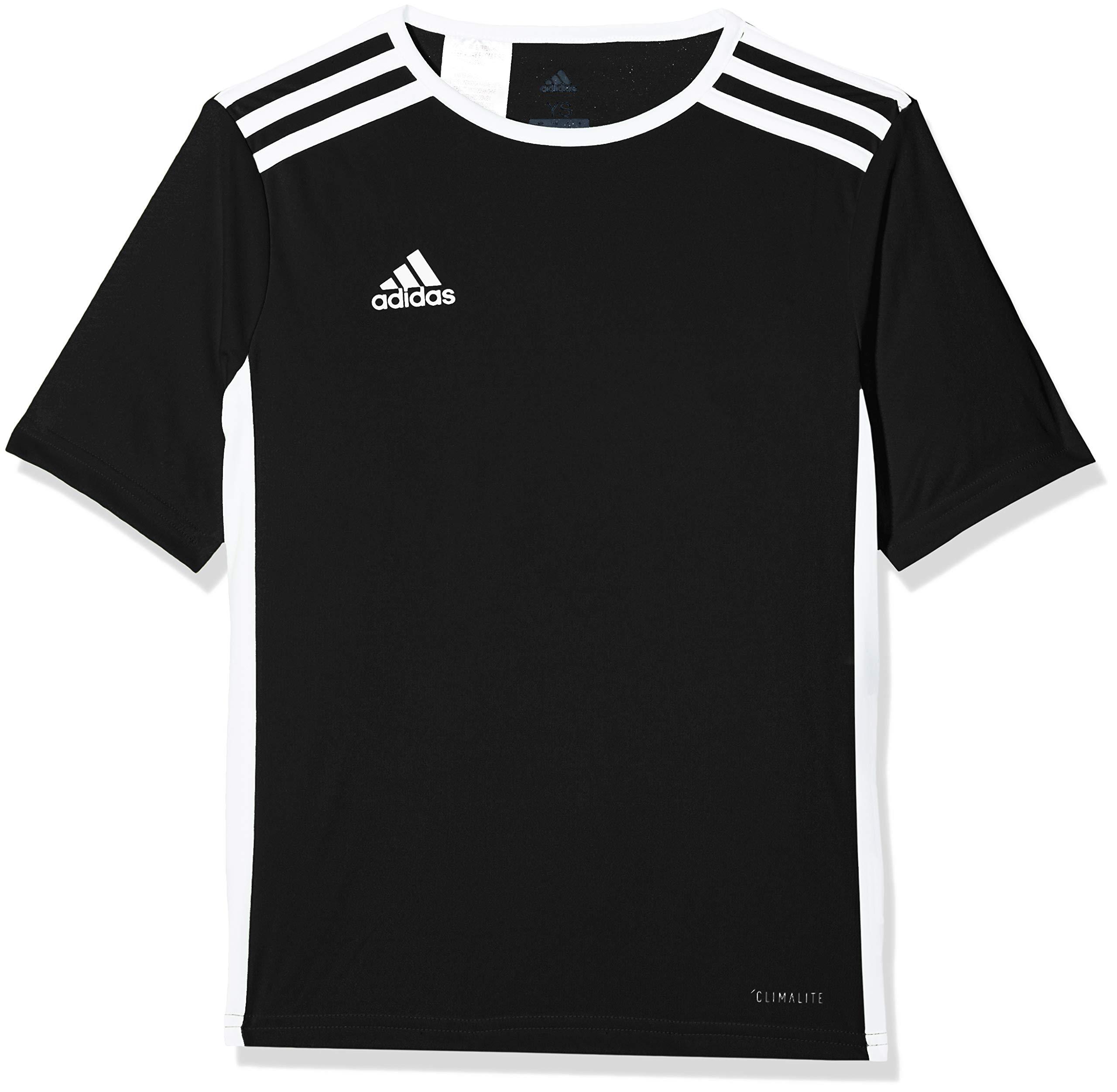 adidas Mens Entrada 18 AEROREADY Primegreen Regular Fit Soccer Short Sleeve Jersey
