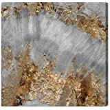 Adore Gold Contemporary Canvas Wall Art Print Home Decor Office The Abstract Wall Decor Collection Oliver Gal Gallery Wrapped Ready To Hang 50x50 Inch Buy Online In Dominica At Dominica Desertcart Com Productid
