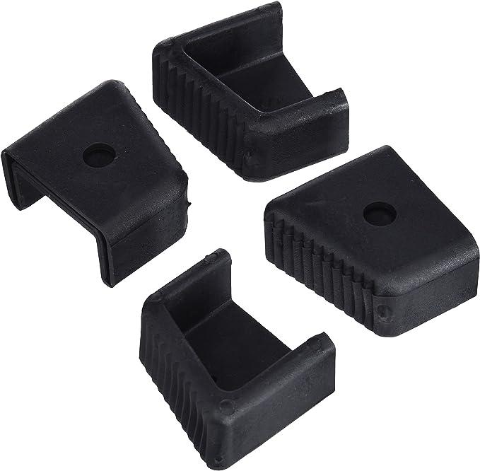 Gierre D4003 - Recambios tacos para escalera, color negro: Amazon.es: Bricolaje y herramientas