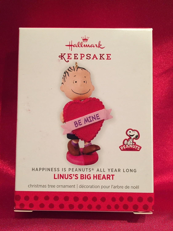 Hallmark Keepsake Ornament The Peanuts Gang Linus Big Heart 7th in Series 2013