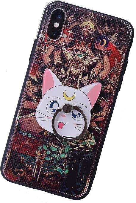 Anillo de teléfono Inteligente de Sailor Moon (Luna): Amazon.es ...