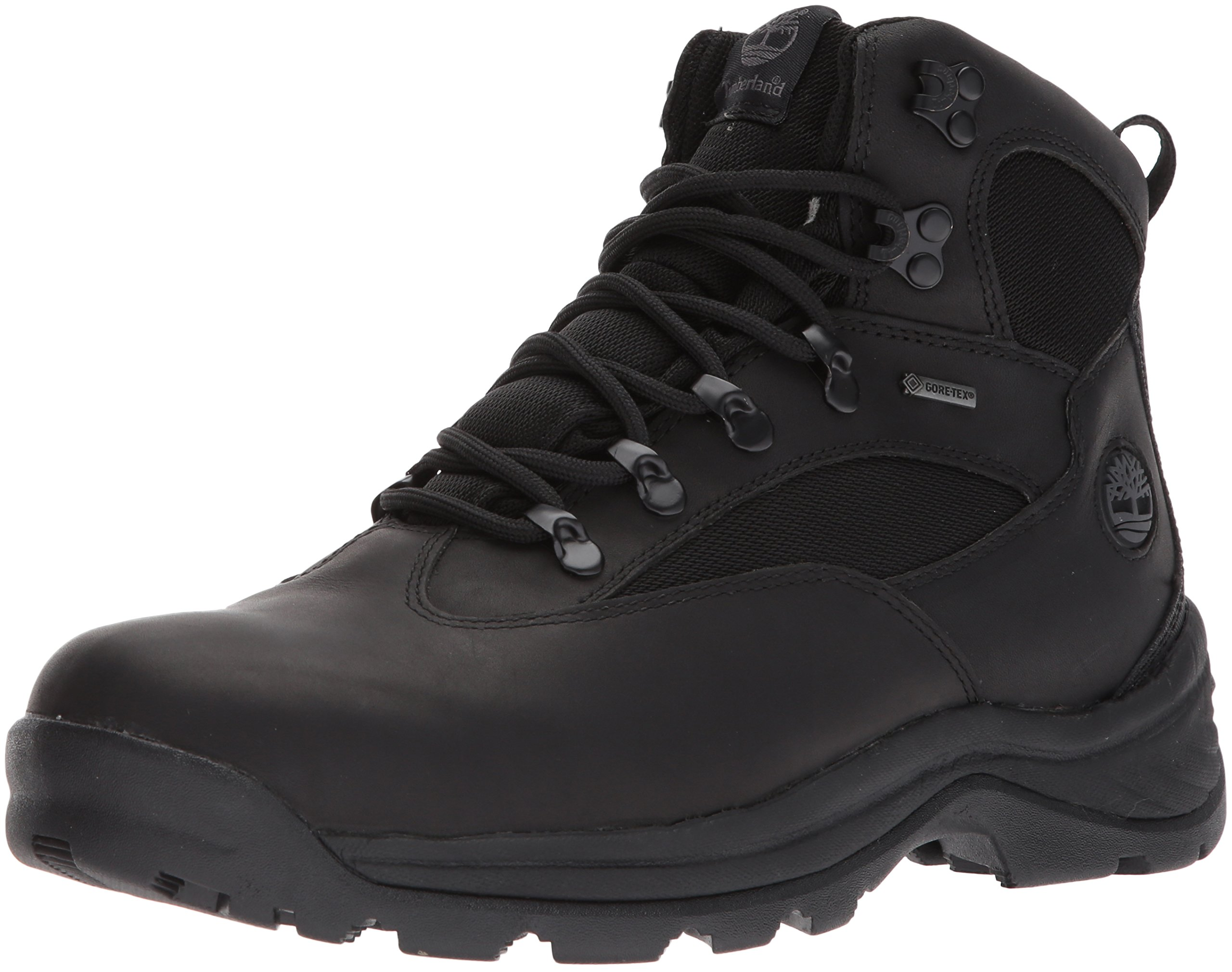 Timberland Men's Chocorua Trail Gore-Tex Mid Hiking Boot (11 D(M) US / 44 EUR, Black)