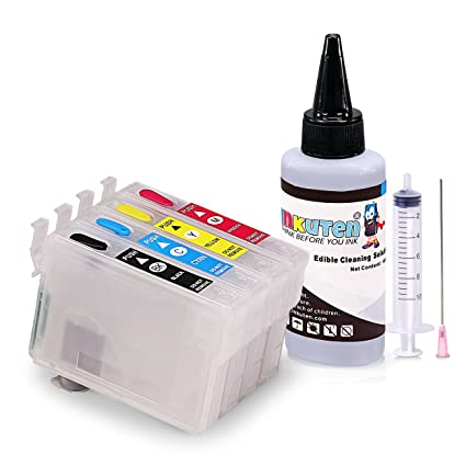INKUTEN - Kit de limpieza para comestible T127 con 100 ml ...