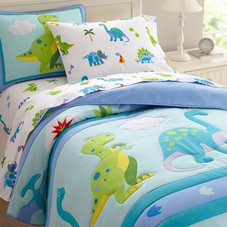 3c76bf0ee1717 Wildkin Comforter Set, Full, Dinosaur Land