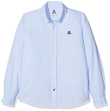 Scalpers 13098, Camisa para Niños, Azul, 3 años (Tamaño del Fabricante: