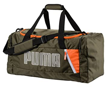 bca36e816edb0 Puma Fundamentals Sports Bag M II Tasche Forest Night