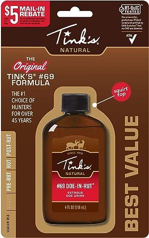 Tinks #69 Doe-in-Rut Buck Lure