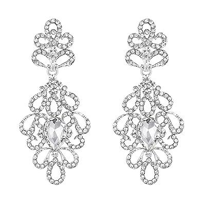 D'oreilles Pendantes Mariage Clearine Vintage Boucles Femme Style ulF3KJcT15