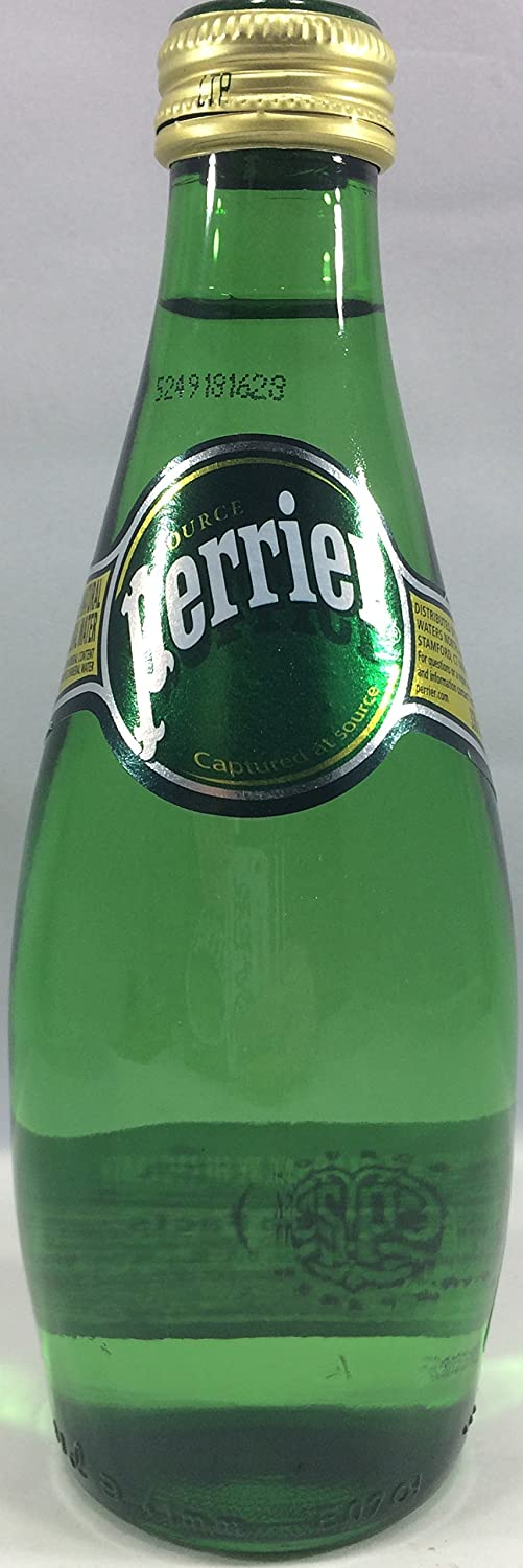 Perrier Original Sparkling Water, 11 Fl Oz (Pack of 24)