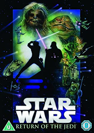 Amazon Com Star Wars Episode Vi Return Of The Jedi Dvd Region2 Requires A Multi Region Player Movies Tv