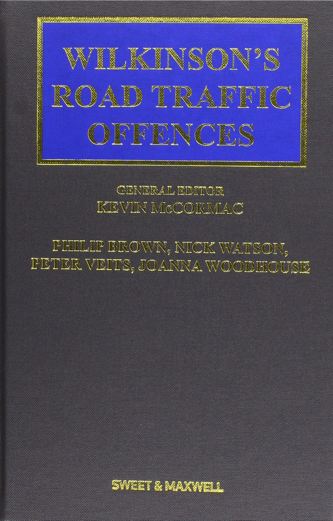 Wilkinson's Road Traffic Offences PDF