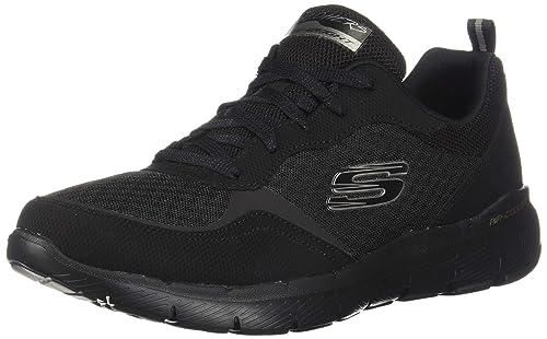 Skechers Damen Flex Appeal 3.0 go Forward Sneaker Schwarz 35