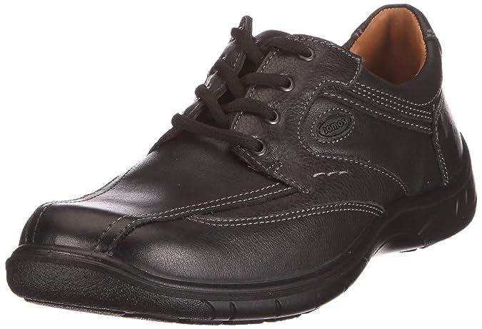 413207-26, Chaussures derby homme - Noir - Schwarz (Schwarz), 42 EUJomos