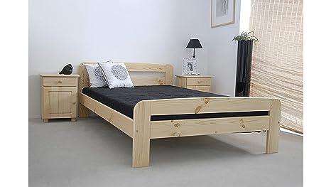 Justyou claudia letto di legno letto matrimoniale contiene roll