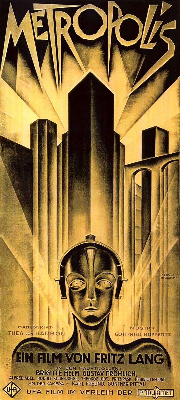 Metropolis en la película Heinz Schulz-Neudamm gigante (1) 1 ...