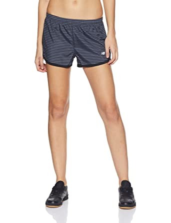9cbd0cdc46946 new balance Women's Sports Shorts: Amazon.in: Clothing & Accessories